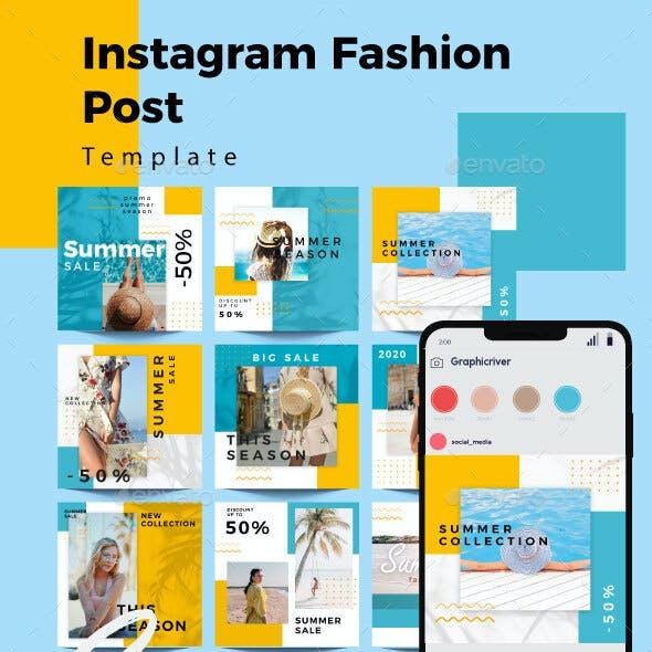 Summer Sale Instagram Post