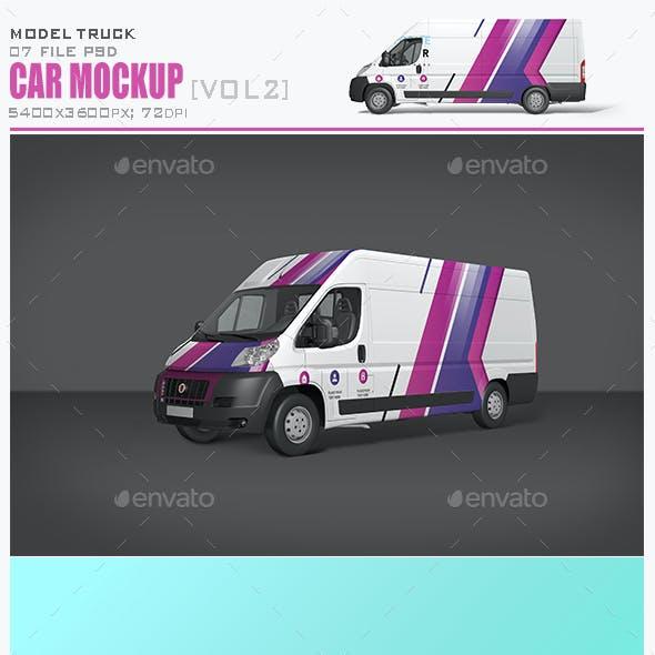 Car Mockup [Vol2]