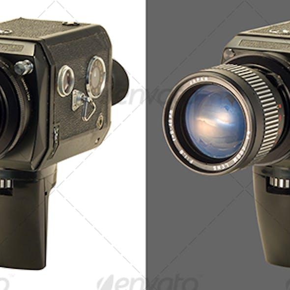 Super 8 Film Camera Black