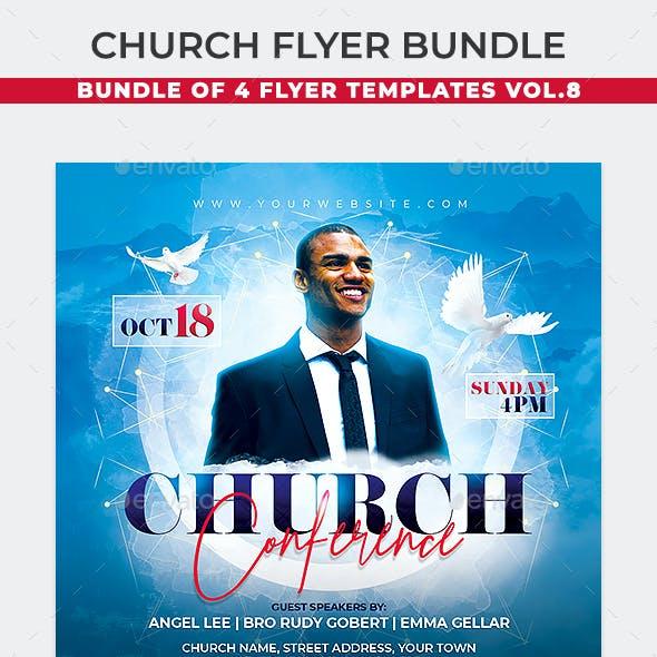 Church Flyer Bundle 8