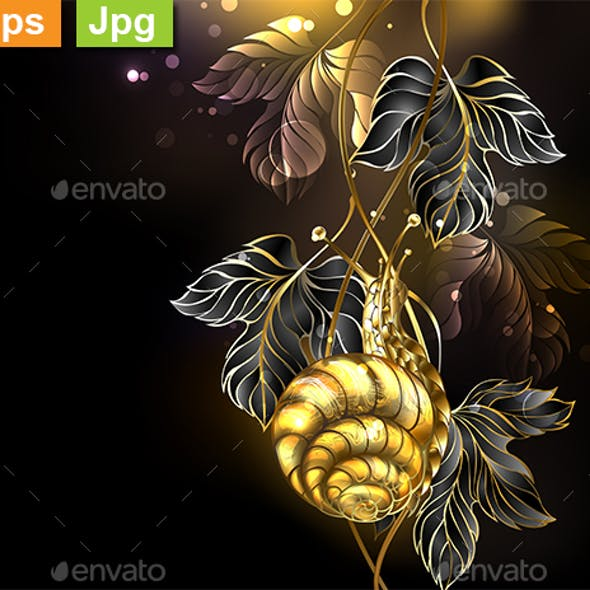 Gold Snail
