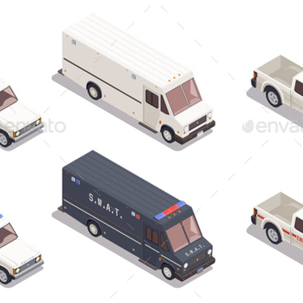 Transport Isometric Composition