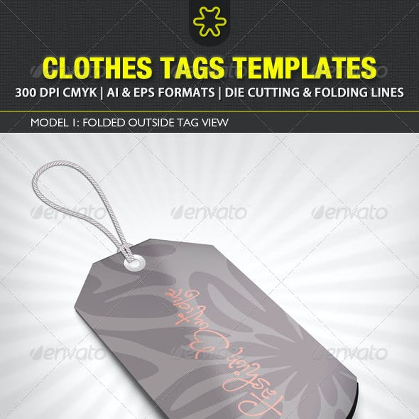 Clothes Tags Templates