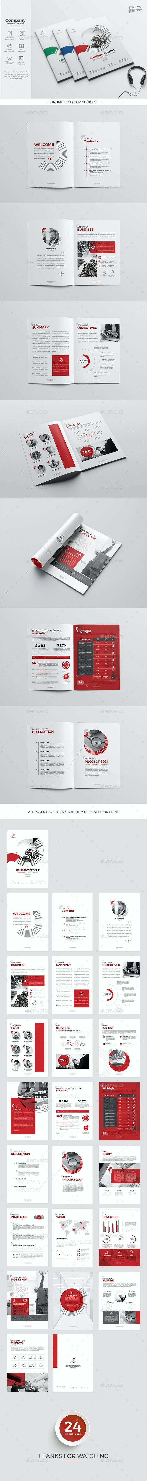 Company Profile 24 Pages - Corporate Brochures