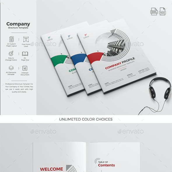 Company Profile 24 Pages