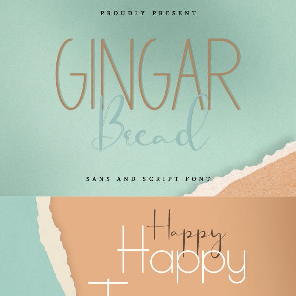 Gingar Bread Font