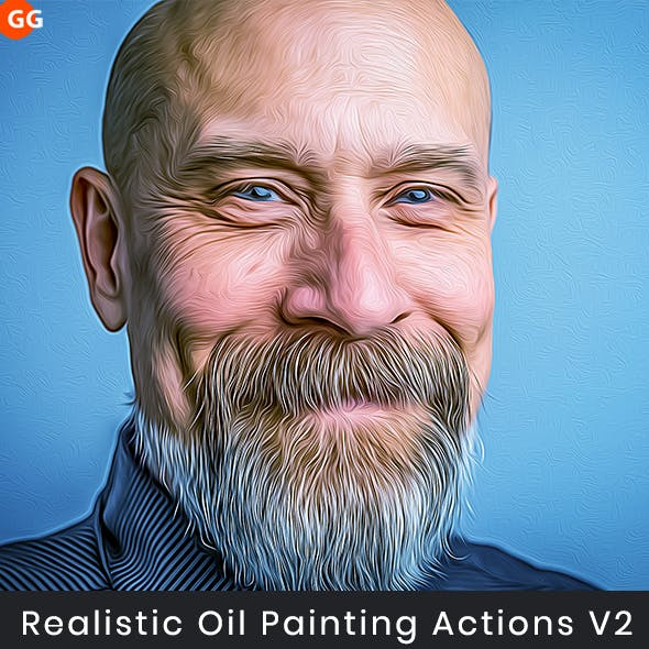 Realistic Oil Painting Actions V2