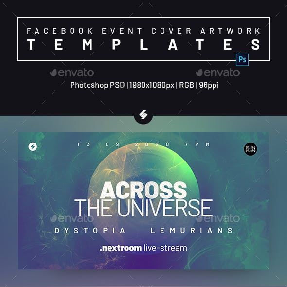 Electronic Music Session 36 - Facebook Event Cover Templates