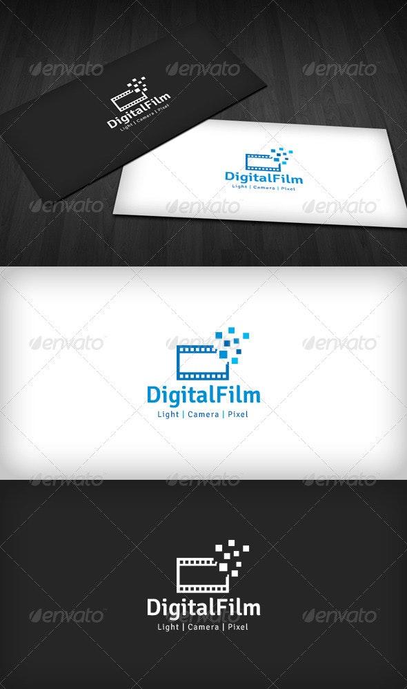 Digital Film Logo - Objects Logo Templates