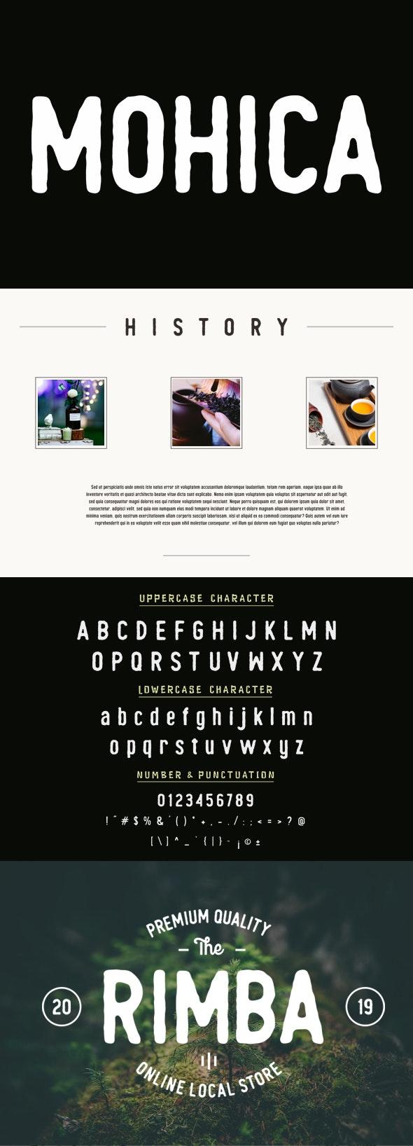 Mohica - Sans-Serif Fonts