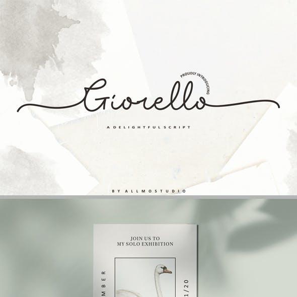 Giorello Font