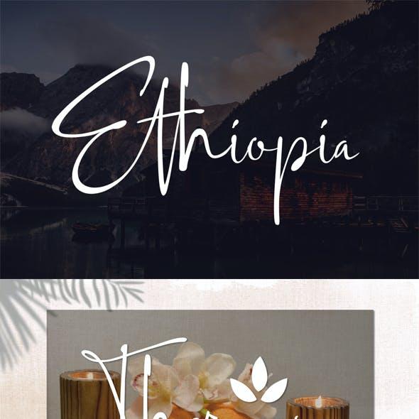 Ethiopia Font