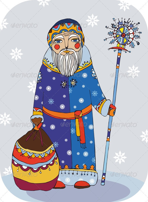 Grandfather Frost - People Characters