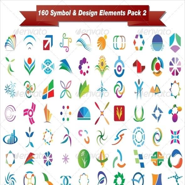 160 Symbol & Design Elements Pack 2