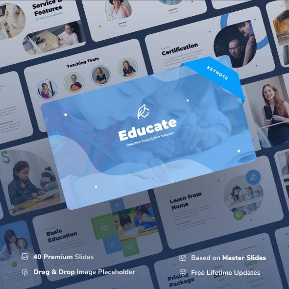 Educate - Education Keynote Presentation