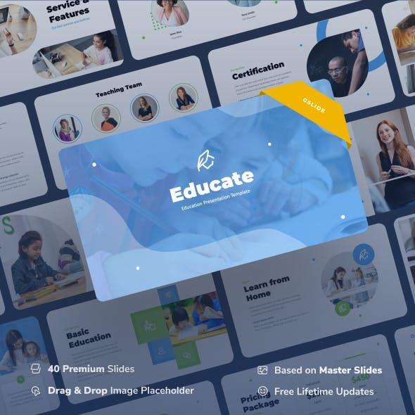 Educate - Education Google Slides Presentation