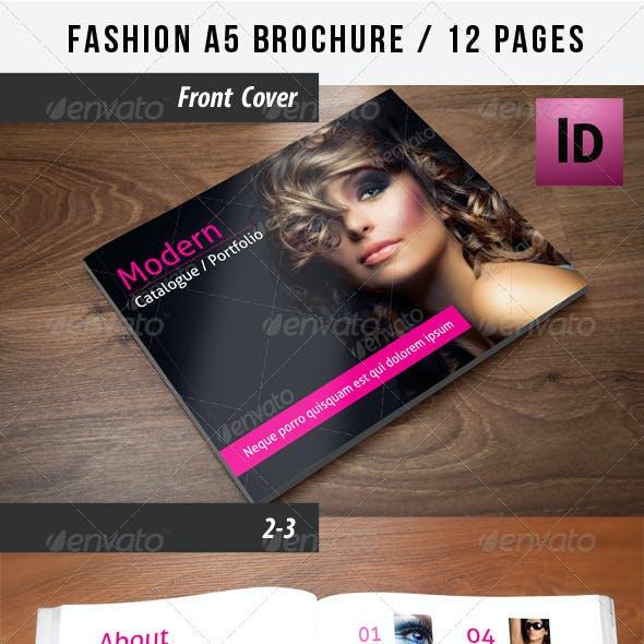 Fashion A5 Brochure