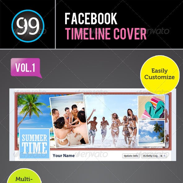 Facebook Timeline Cover Vol 1