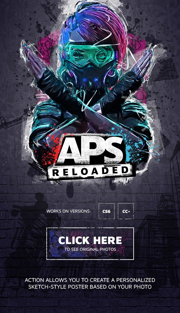 APS Reloaded Photoshop Action - Photo Effects Actions