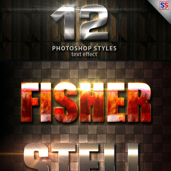 12 Light Photoshop text Effect vol 22