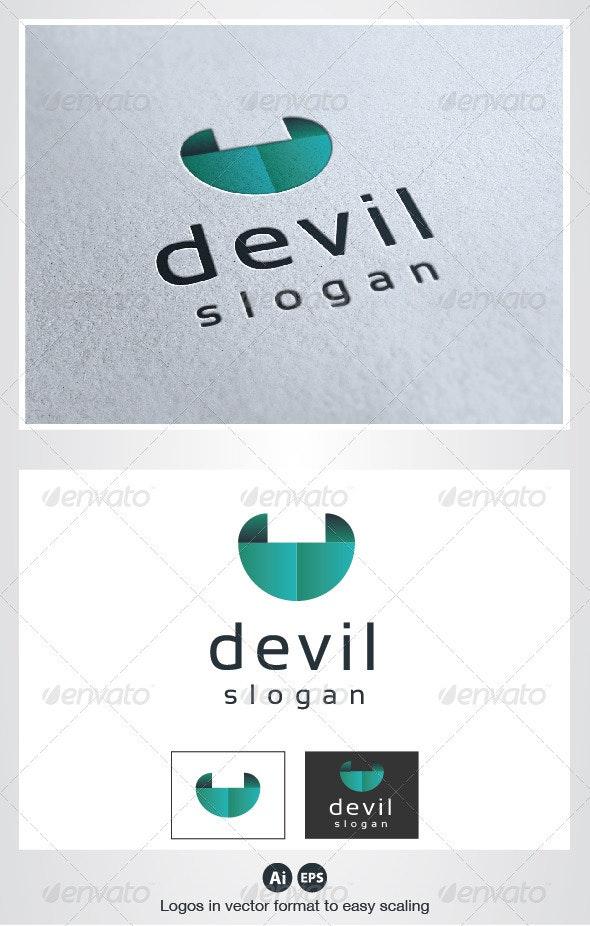Devil Logo - Humans Logo Templates