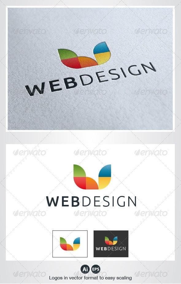 Web Design Color Logo - Letters Logo Templates
