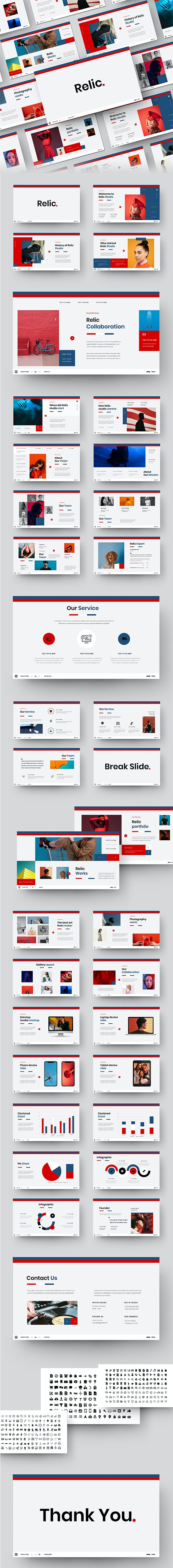 Relic – Business PowerPoint Template - Business PowerPoint Templates