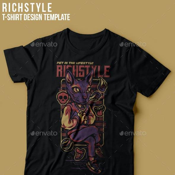 Rich Style T-Shirt Design