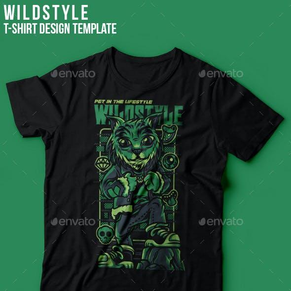 Wild Style T-Shirt Design