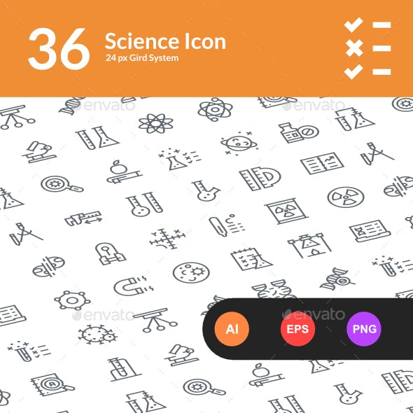 36 Science Icon