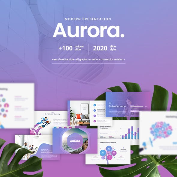 Aurora Google Slide Template