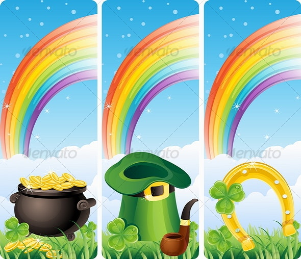 St. Patrick's banners - Miscellaneous Seasons/Holidays