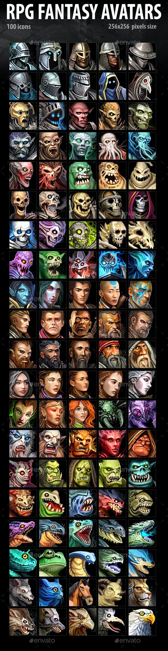 RPG Fantasy Avatars
