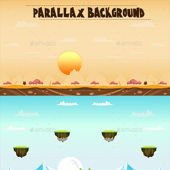 Parallax Backgrounds