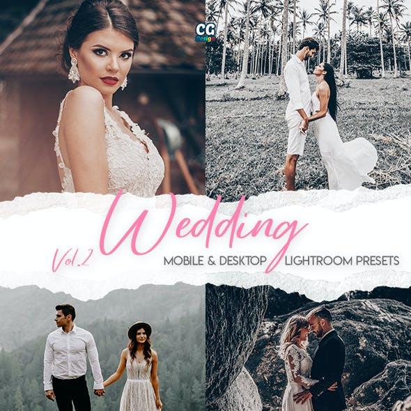Wedding Lightroom Presets Vol. 2 - 15 Premium Lightroom Presets