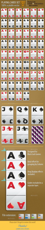 Playing Cards Set 009 - Game Kits Game Assets