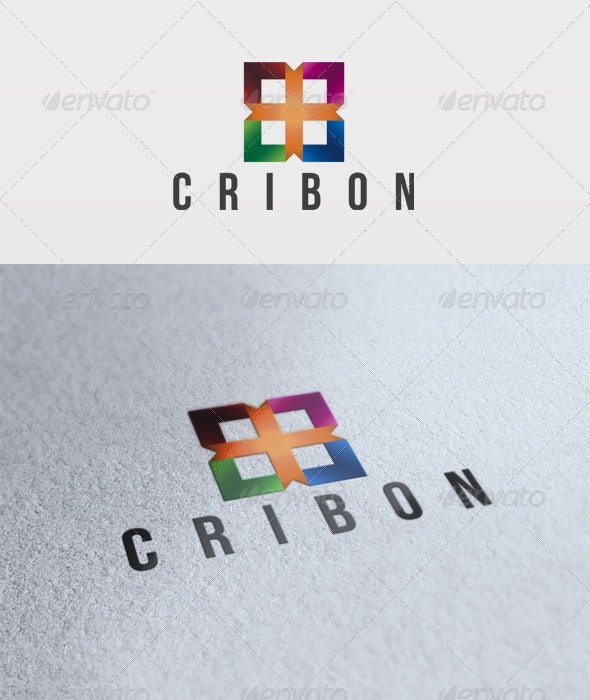 Cribon Logo - Vector Abstract