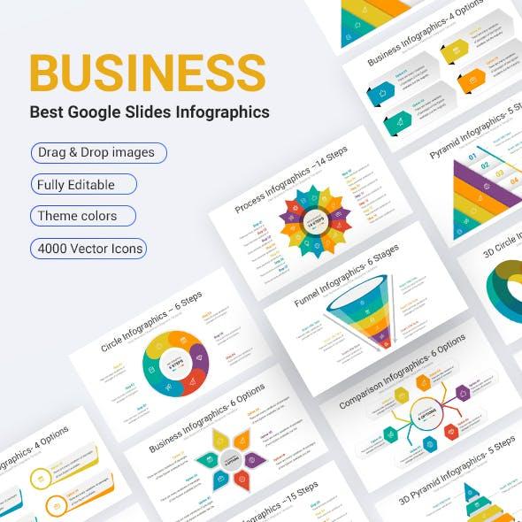 Business Google Slides Infographics Diagrams Template