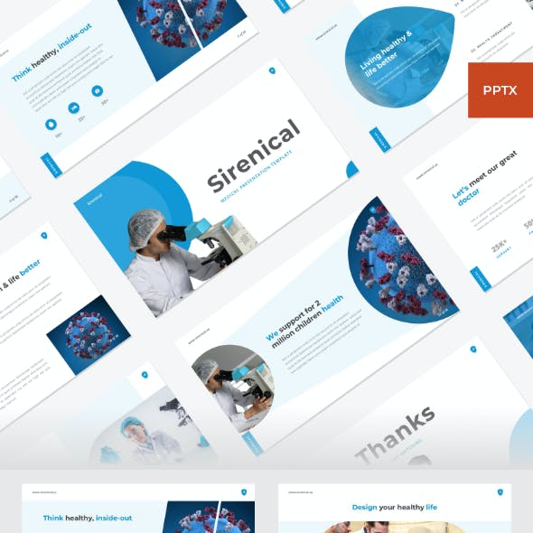 Sirenical - Medical PowerPoint Template