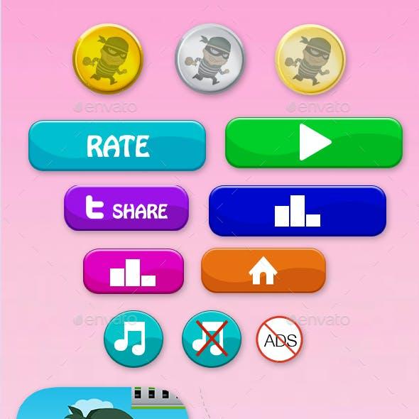 Unity Asset Reskin: Thief Game