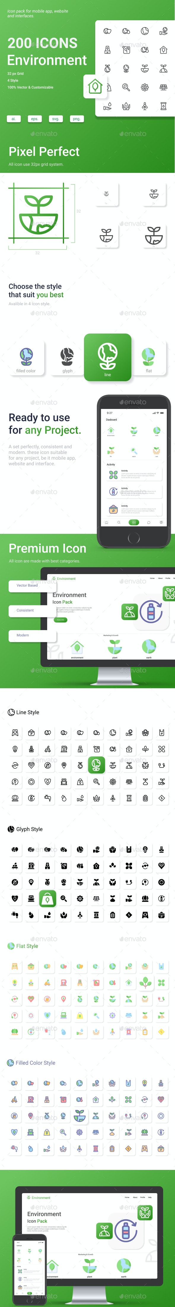 Environment Icon Pack - Miscellaneous Characters