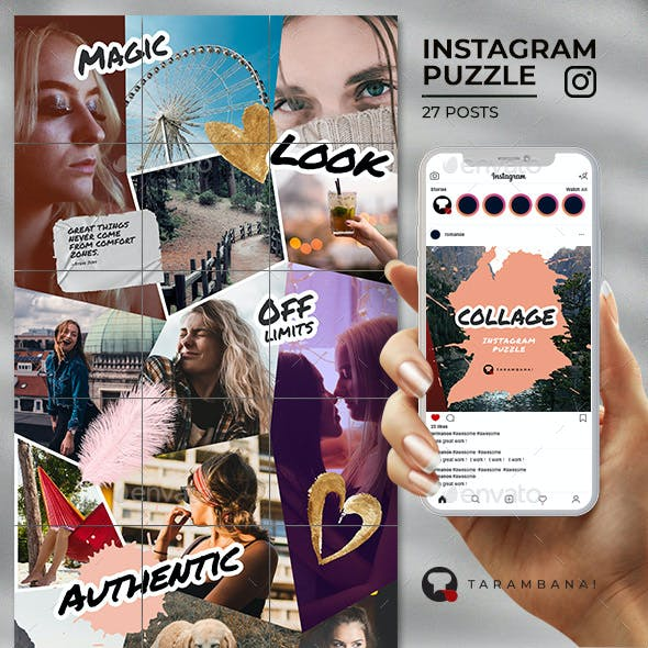 Collage - Instagram Puzzle Feed