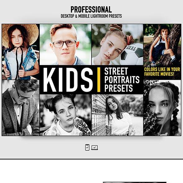 Lightroom Presets Kids Portrait Photography Actions