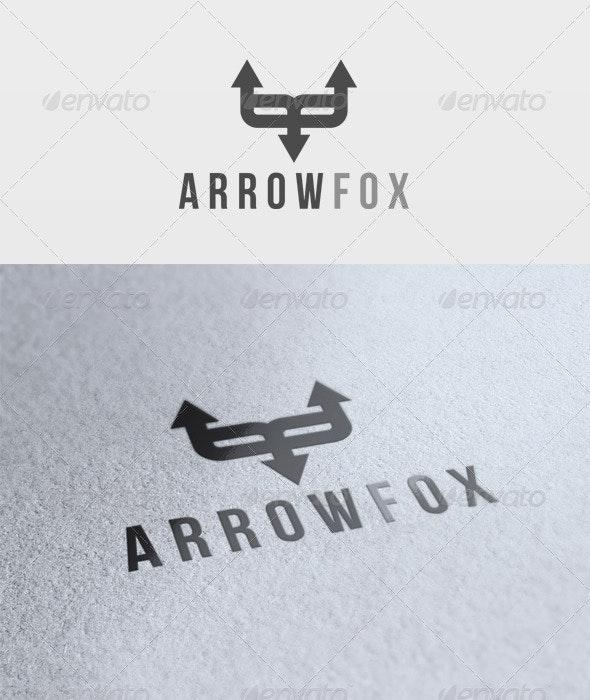 Arrow Fox Logo - Animals Logo Templates