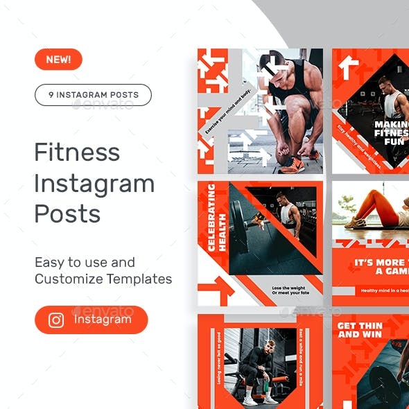 Fitness Instagram Posts