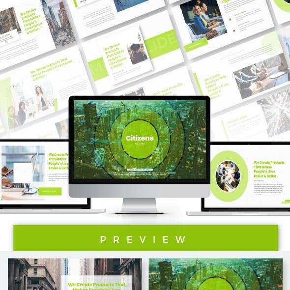 Citizene Presentation Templates