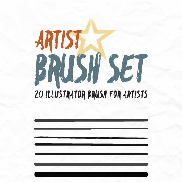 Artist Brush For Illustrator