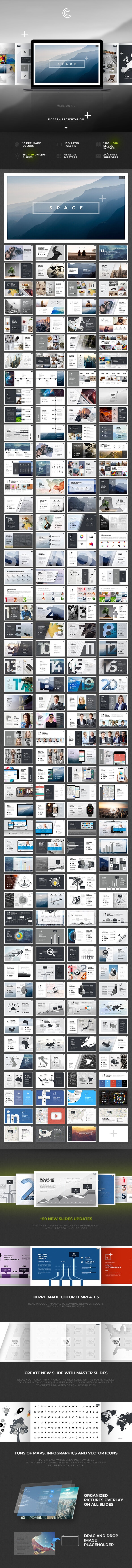 Space Keynote - Keynote Templates Presentation Templates