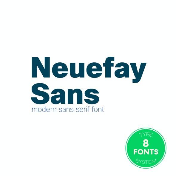 Neuefay Sans Font