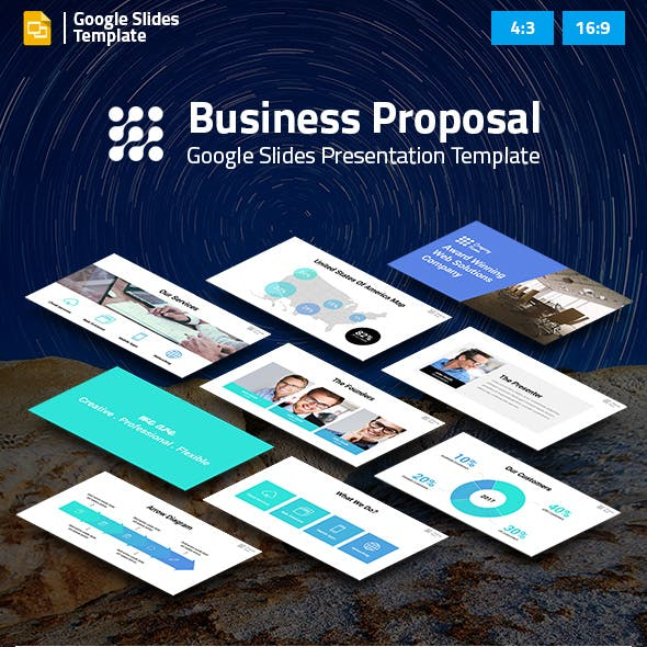 Business Proposal Google Slides Pitch Deck